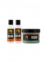 Triple Combo - Travel Size (Peppermint Cowash, Conditioner, Curl Creme)