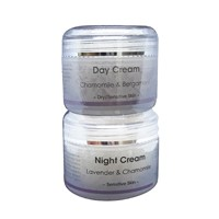 Chamomile and Bergamot Day Cream & Lavender and Chamomile Night Cream 2x50ml