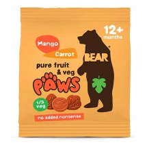 Bear Paws Mango and Carrot - 20g