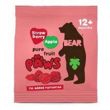 Bear Paws Strawberry and Apple- 20g