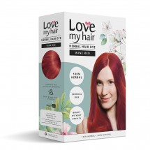 Wine Red – 100% Herbal hair dye - 100g