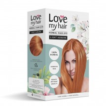Light Urban – 100% Herbal hair dye- 100g