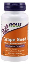 Grape Seed 100 mg - 10 Vegetable Capsules