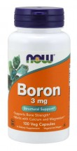 Boron 3 mg - 100 Vegetable Capsules