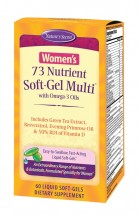 Women's 73 Nutrient Soft-Gel Multi - 60 Liquid Softgels