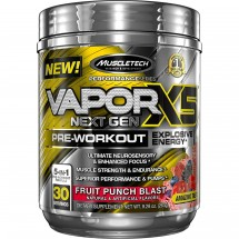 MuscleTech Vapor X5 Next Gen Pre Workout - Fruit Punch Blast - 263g