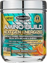 Amino Build Next Gen Energized Cooler Powder  Orange/Mango - 278g