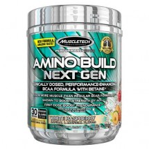 Amino Build Next Gen, White Raspberry - 283g