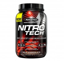 Nitro Tech Performance Series Milk Chocolate - 2lbs (907g)