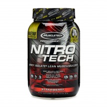 Nitro Tech 100% Whey Gold Strawberry - 2.2lbs