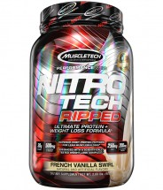 Nitro Tech Ripped French Vanilla Swirl - 2lb