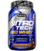 Nitro Tech 100% ISO Whey Performance Series Chocolate - 1.8lb