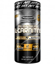 Essential Series Platinum 100% L-Carnitine -180 Tablets