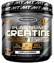 Essential Series 100% Micronized Creatine Unflavoured - 400g