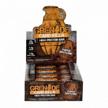 Carb Killa Bars fudge Brownie Bar- Box of 12