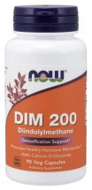 DIM 200 - Diindolylmethane - 90 Vegetable Capsules