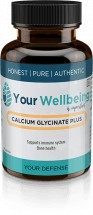 Calcium Glycinate-Plus - 700mg - 60 Vegetable  Capsules