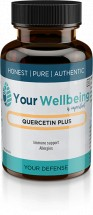 Quercetin Plus 750mg -  60 Vegetable Capsules