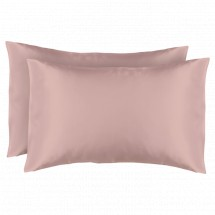 Satin Pillow Case (Double Pack) - Pink