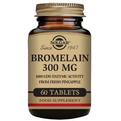 Bromelain 300 mg Capsules - Pack of 60